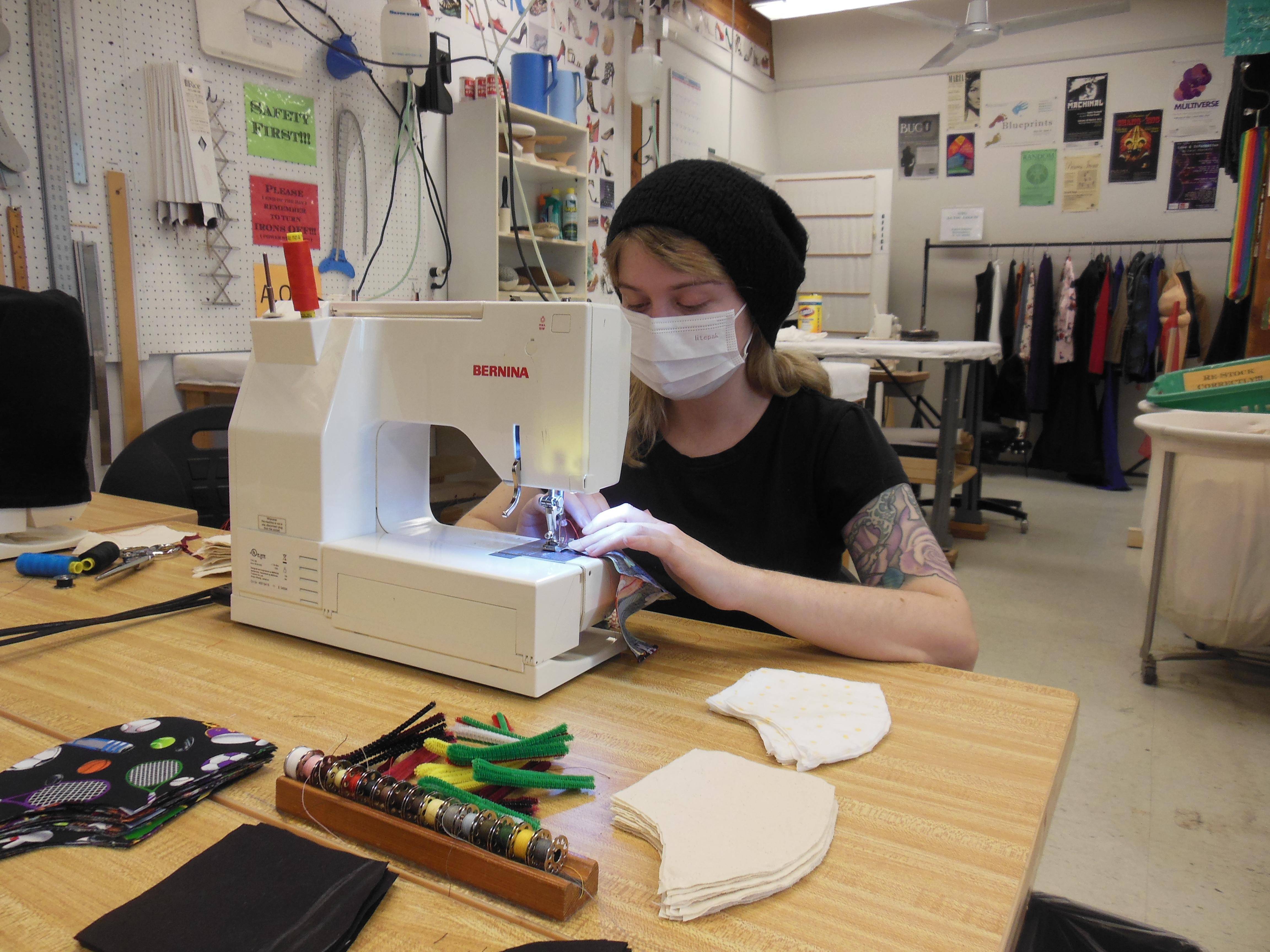 Jenna Phillips, UCSC Costume Shop Assistant