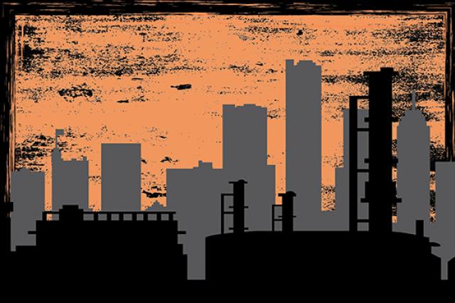 Skeleton Crew - Promo Image W20 - image of urban landscape