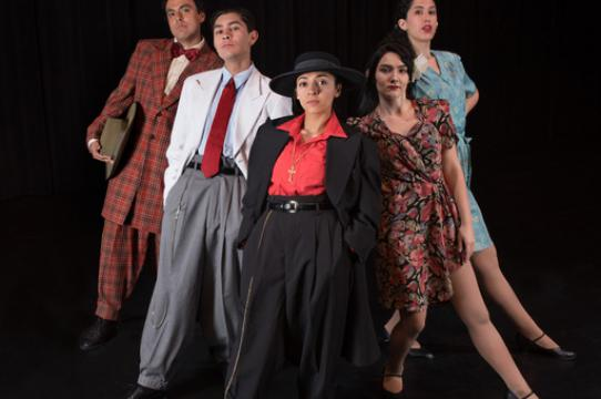 Group of student actors